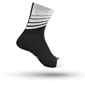 GripGrab Racing Stripes Cycling Socks black/white
